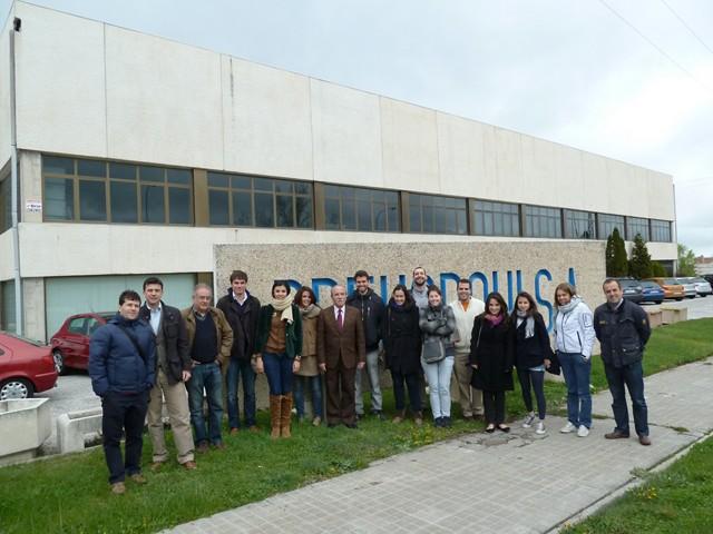 Visita de estudiantes de la ets arquitectura de la upm - Ets arquitectura madrid ...